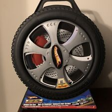 Hot Wheels Car Case Spinning Tire Case 2-Sided for 72 Cars