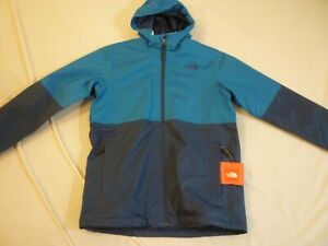 THE NORTH FACE Will 3 In 1 Jacket Kids L 14/16 $140 Blue New With Tags FREE SHIP