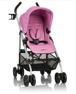 Evenflo Urbini Reversi Lightweight Stroller, Pinkberry Fizz