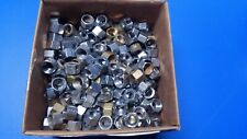 """3/8"""" od compression nuts chrome and rough brass"""