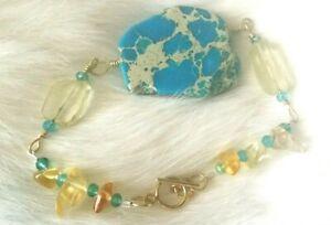 Multi gemstone Mixed stone bracelet