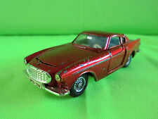 DINKY TOYS  1:43 VOLVO 1800s  -  METALLIC RED  -   RARE SELTEN IN GOOD CONDITION
