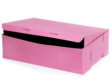 25 count PINK 14x10x4 Bakery or Cake Box