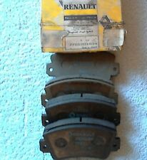 Renault Trafic Front Brake Pads New Genuine 7701201534 and 7701205014