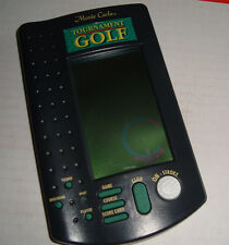 Tournament Monte Carlo Golf Electronic Handheld Game Awesome 18 Holes Of Fun