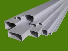 100m Kabelkanal  PVC  weiß, 16 x 16 mm, je 2 m, 50 St im Paket, Preis/Meter 0,49