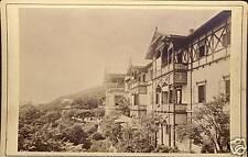 Germany photo cc.1890 V.Angerer Wieden Houses