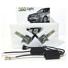 H1 LED Birnen, H1 LED Scheinwerfer Nachrüstung Umrüstung,  360 Grad, 6000 Kelvin