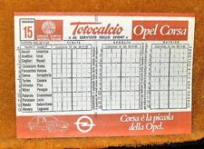 SCHEDINA TOTOCALCIO CONCORSO N.15 28-11-1982 INTONSA