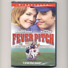 Fever Pitch 2005 Red Sox baseball movie, new DVD Drew Barrymore, Jimmy Fallon ws