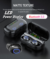 Bluetooth 5.0 Headset TWS Wireless Earphones Mini Earbuds Stereo Headphones 8D