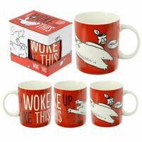 Ceramic Simon's Cat I Woke Up Like This Mug Gift Boxed Funny Humorous Novelty