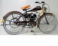 Too Small to Ride: Schwinn Bicycle Vintage Motorized Bike Motorcycle Metal Model
