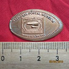 Medaille Elongated Coin - National Postal Museum Inverted Train