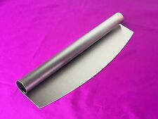 32cm Mezzaluna Professional Quality Pizza Cutter Stainless Steel Rocker Knife
