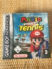 "Nintendo Gameboy Advance Game. ""Mario Power Tennis"". Sealed. Mint"