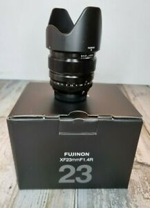 Fujifilm Fujinon XF 23mm f/1.4 R Lens, exc condition with Fujifilm 62mm filter