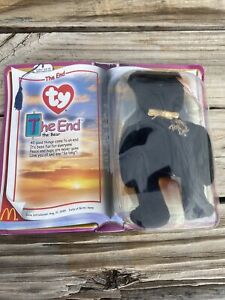 TY THE END the Bear Beanie Baby New in Box by McDonalds Corporation