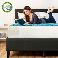 BCP 10in Dual Layered Memory Foam Mattress w/ CertiPUR-US Certified Foam