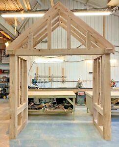 Oak Porch - UPTO 2600mm Wide + Side Returns - Bespoke designs/sizes made