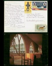 Mayfairstamps Ethiopia Red Sea Hotel to US Picture Postcard wwp481