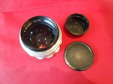 Objektiv Lens Biotar 1,5/75 mm Carl Zeiss Jena Zustand gut für Praktina