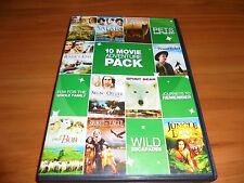 10 Movie Adventure Pack (2-Disc DVD) Used Jungle Book/Proud Rebel/River's End