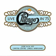 CHICAGO - LIVE IN 75 NEW CD