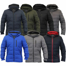 Polyester Hooded Coats & Jackets for Men Puffer