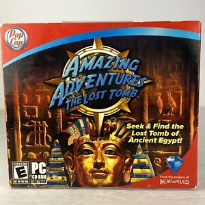Video Game PC Amazing Adventures The Lost Tomb New Sealed