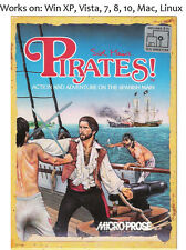 Sid Meier's Pirates + Pirates Gold PC Mac Linux Game Meiers