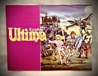 Ultima Exodus Instruction Manual Booklet - 1988 Nintendo NES Original