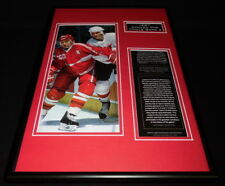 1987 Canada Cup Game 5 Framed 12x18 Photo Display Mario Lemieux