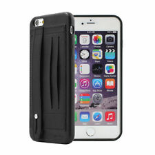 Matte Synthetic Leather Cases & Covers for Apple Phones