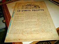 Revista Satírico lo Espíritu Kobold Sonzogno N.905 Del 3/10/1878 Illustrata
