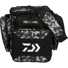 Daiwa D Tec Tactical Tackle Bag Box - Digital Black Camo Includes 5 3600 Boxes