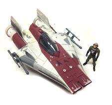 STAR WARS TRILOGIA originale di una nave Wing Fighter veicolo per figure giocattolo + Scatola