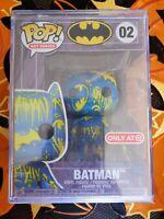 Funko Pop! Batman Art Series Blue & Yellow 02 - Target Exclusive - IN HAND