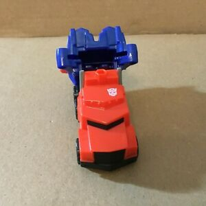 Optimus prime vehicle mode from Transformers: Robots In Disguise McDonald's toy