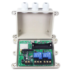 KT-G3-AU 4G GSM Relay Switch Solenoid Remote Control Wireless Gate Opener 30A