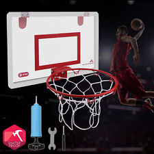 In/Outdoor Mini Basketball Hoop System w/ Ball Home Sports Wall Mounted Hanging