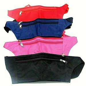 Bum Bag Waist Bag For Travel And Storage - Money,Cards - Multiple Zipped Pockets