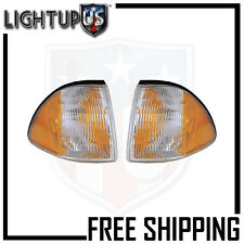 Fits 87-93 FORD MUSTANG SIGNAL LIGHT/LAMP  Pair (Left and Right Set)
