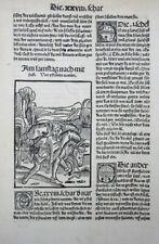 NARRENSCHIFF HOLZSCHNITT VON VIELEN VORTEILEN 1520 GEILER VON KAISERSBERG #16