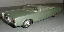 Vintage 1/25 1964 Imperial Promo Car Model Johan Convertible