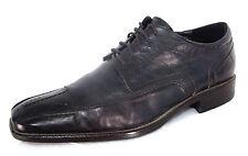 Aldo Shoes Sz 43 / 10 Mens Dark Brown Wrinkled Leather Oxfords Lace Ups