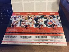 2015 BALTIMORE ORIOLES SEASON TICKET STUB PICK YOUR GAME MACHADO DAVIS JONES