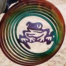 Wind Spinner  Metal 3D Whirligig Hanging Outdoor Yard Art Hook