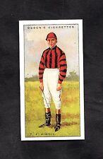 1930 Ogden's Cigarette Card Jockey 1930 No40 T.F. Rimell
