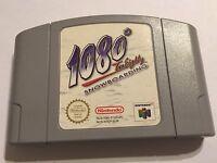1080 1080* NINTENDO 64 N64 SNOWBOARDING GAME CARTRIDGE PAK PAC ONLY UK/EU PAL